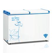 美的 BCD-271VMQ双温冷冻冷藏卧式家用商用冷柜冰柜