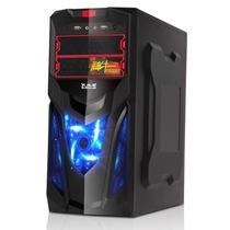 大水牛 神牛8(黑色/支持ATX大板/显卡支持29CM/硬朗游戏风格)产品图片主图