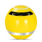 蒙奇奇 蓝牙音箱 无线免提通话器 便携插卡迷你小音响 黄色
