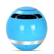 蒙奇奇 蓝牙音箱 无线免提通话器 便携插卡迷你小音响 蓝色