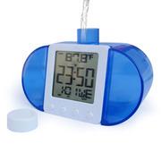 爱玛科 XD-777 智能水发电闹钟 水能电子钟表时钟 创意环保礼品 浅蓝色