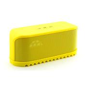 喜木 蓝牙音箱  无线低音炮音箱 插卡电脑音箱 迷你蓝牙小音箱 便携户外音乐播放器 黄色