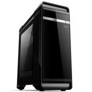 爱国者 YOGO优果机箱黑色(赠送LED静音风扇12CM*2/USB3.0*2/风扇调速器*2/读卡器/侧透)