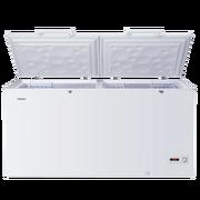 海尔 BC/BD-429H 429升卧式冷柜单温冷冻冷藏转换顶开门