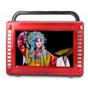 金正 老年人看戏机M28 15寸超大屏高清带电视视频扩音器大功率广场舞音响FM收音机唱戏机 红色 加16G戏曲广场舞卡