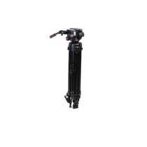 曼富图 504HD+546GBK 三脚架 液压云台 摄像套装 正品行货产品图片主图