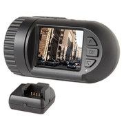 捷渡 D169S 行车记录仪高清广角夜视 迷你安装 D169GPS轨迹记录版 标配无卡+降压线