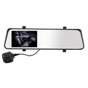 凌度 HS600A 汽车行车记录仪  首款前后镜头双高清夜视循环录像 后视镜车载记录 如图所示 双镜头 标配+16G卡