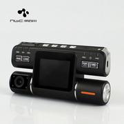 纳百川 N602车载行车记录仪 高清循环录影 双镜头录像 标配+16G
