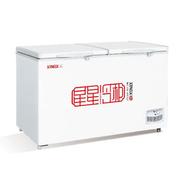 星星 BD/BC-408C 408升卧式单温双门冷冻冷藏转换顶开门冷柜