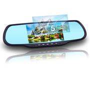 瑞世泰 R11安卓WIFI行车记录仪双镜头高清1080P5寸后视镜记录仪一体机 带16G存储卡