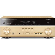 YAMAHA RX-V777 家庭影院7.2声道(7*160W)AV功放机 支持4K超高清/wifi/双HDMI输出 金色