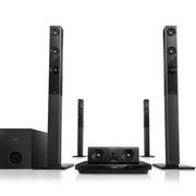 飞利浦 HTB3581/93 5.1家庭影院 3D蓝光DVD 晶晰音效  HDMI完美配合全高清电视(黑色)