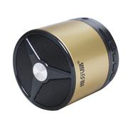 维尔晶 BT05DS 音箱 音响 蓝牙音箱 蓝牙音响 无线音箱 低音炮  迷你插卡音响便携式 1代金色