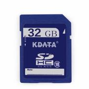 数码王 32GB SDHC Class10高速相机卡 大容量SD闪存卡