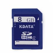 数码王 Class6 8GB高速SD相机卡 SDHC卡