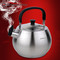 HUANXIPO 304不锈钢烧水壶加厚复底鸣音响水壶产品图片1