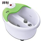祥利 足浴盆自动按摩洗脚盆恒温加热臭氧杀菌泡脚盆CH-3887A 草绿色