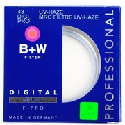 B+W 43 MRC UV 银色多层镀膜滤镜