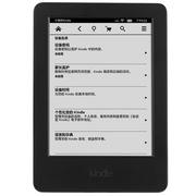 亚马逊 Kindle 6英寸护眼非反光电子墨水触控显示屏 内置wifi 4G 电子书阅读器 黑色