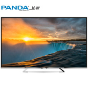 熊猫 LE42C19S-UD 42英寸 4K极清8核安卓智能电视 (黑色)