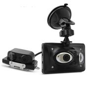 凌度 LD900行车记录仪四镜头360度全高清双镜头停车监控红外夜 无卡