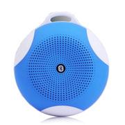 光盾 K09 无线手机蓝牙音箱 户外便携音箱 口袋 插卡迷你音响 便携式多功能 蓝色