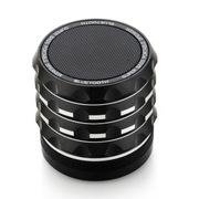 apphome 蓝牙音箱 无线免提通话器 便携迷你小音响 红色蓝牙版