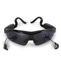 CASMELY 智能触控蓝牙太阳镜 男女偏光蓝牙眼镜 可听音乐通话 黑色产品图片主图