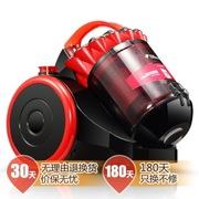 德尔玛 DX178E 真空吸尘器 家用静音 终身无耗材 高效除螨