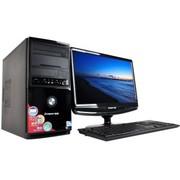 中柏 H300P 台式电脑 (奔腾G2030/4G/500G/DVDROM/2G独显)黑色