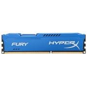 金士顿 骇客神条 Fury系列 DDR3 1600 4GB台式机内存(HX316C10F/4)蓝色