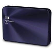 西部数据 My Passport Ultra 金属版USB3.0 2TB 超便携移动硬盘 (宝石蓝)BEZW0020BBA产品图片主图