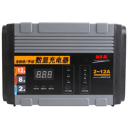 纽福克斯 车载电瓶充电器6814N 全自动数显 手动/自动可切换