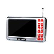 先科 视频播放器  4.3寸老年人看戏机视频播放器   多功能 多格式 大声音 银色 标配