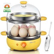 小熊 煮蛋器 多功能双层煎烙煮蛋器 14个蛋容 ZDQ-2191
