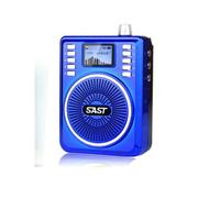 先科 【支持货到付款】老人收音机广场舞音乐播放器便携mp3插卡音箱U盘音响录音扩 红色