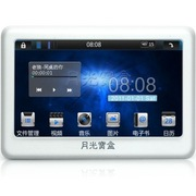月光宝盒 爱国者(aigo)数码播放器MP5 5902PLUS高清触摸屏MP3 8G 白色