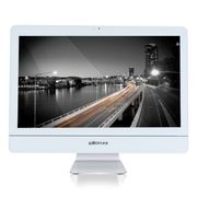杰灵 21.5英寸一体电脑(酷睿i5 4G 500G 麦克风 音箱 蓝牙) 白色