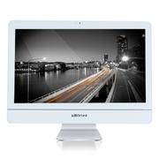杰灵 21.5英寸一体电脑(酷睿i5 4G 500G 麦克风 音箱 蓝牙) 白色带3D屏