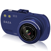 DAZA G322 大智行车记录仪 1080P高清 自动循环录影 1200万像素170度广 蓝色-16G卡24小时停车监控
