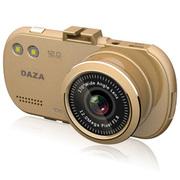 DAZA G322 大智行车记录仪 1080P高清 自动循环录影 1200万像素170度广 金色+32G+24小时停车监控