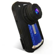 菲特安 M10 安霸A7方案F1.8大光圈行车记录仪 2K极清超广角夜视 GPS形车定位 蓝色 官方标配+32G高速卡