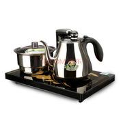 新功(SEKO) 全自动电水壶 自动上水电热水壶 电茶炉烧水壶不锈钢泡茶壶 整套茶具F88