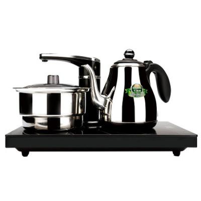 新功(SEKO) 全自动电水壶 自动上水电热水壶 电茶炉烧水壶不锈钢泡茶壶 整套茶具F88产品图片2