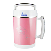 小鸭 A36全自动无网豆浆机1.5L 多功能家用全钢果汁机 正品特价 粉红色