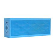 数码王 S310蓝牙音箱 双喇叭立体声蓝牙音箱 免提通话低音炮插卡音响 浅蓝色