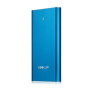 酷胜(COOLUP) 大容量移动电源 保养电流 20000毫安 手机平板通用型 智能速充不伤手机 蓝色