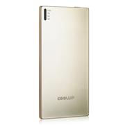 酷胜(COOLUP) 轻便 5.8mm超小超薄聚合物移动电源 迷你移动电源 3500毫安 手机平板通 金色
