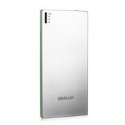 酷胜(COOLUP) 轻便 5.8mm超小超薄聚合物移动电源 迷你移动电源 3500毫安 手机平板通 铬色